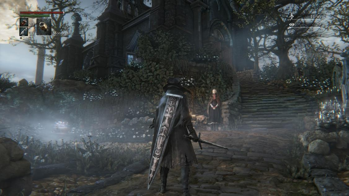 In-game screenshot of Ludwig's Holy Blade